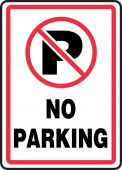 - Safety Sign: No Parking