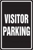 - Parking Sign: Visitor Parking