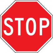 - Safety Sign: Stop