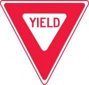 - Traffic Safety Sign: Yield