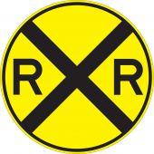 - Rail Sign: Highway-Rail Grade Crossing