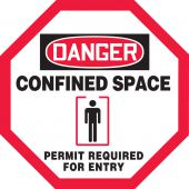 - OSHA Danger Manhole Warning Barrier™: Confined Space - Permit Required For Entry