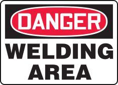 - OSHA Danger Safety Sign: Welding Area