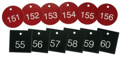 - Accu-Ply™ Engraved Numbered Plastic Tags