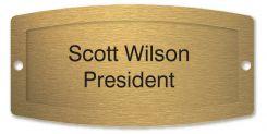 - Custom Engraved Office Signs & Frame Kit