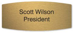 - Custom Engraved Office Sign Only