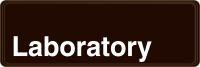 - Deco-Shield™ Sign: Laboratory
