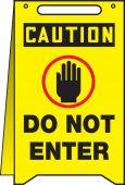 - OSHA Caution Fold-Ups® : Do Not Enter