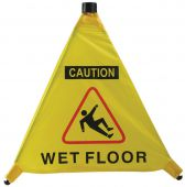 - OSHA Caution Pop-Out Warning Cone: Wet Floor
