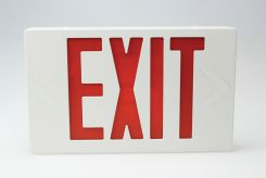 - Entrance And Exit Signs: Exit (Thermoplastic LED)