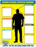 - Safety Sign: PPE-ID™ Chart & Label Booklet Kit