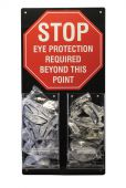 - Eye Protection STOP Station