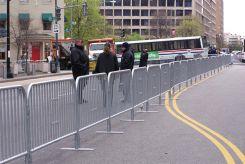 - Barrier & Barricade: Galvanized Steel Event Barricade