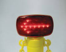 - Blockade Interchangeable Stanchion Cap and Accessories: LED Arrow Light