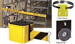 - Rack Mount Retractable Belt Tape Barriers