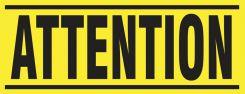 - Blockade X-Barricade Changeable Message: Attention