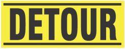 - Blockade X-Barricade Changeable Message: Detour