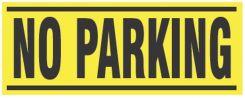 - Blockade X-Barricade Changeable Message: No Parking