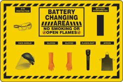 - Battery Changing Station Store-Boards™