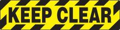 - Skid-Gard™ Floor Sign: Keep Clear