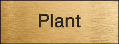 - Engraved Accu-Ply™ Sign