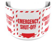 - 180D Projection™ Sign: Emergency Shut-Off