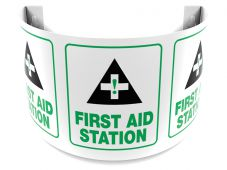 - 180D Projection™ Sign: First Aid Station