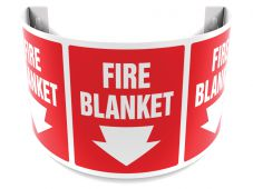 - 180D Projection™ Safety Sign: Fire Blanket