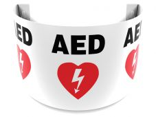 - 180D Projection™ Sign: AED