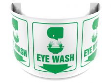 - 180D Projection™ Safety Sign: Eye Wash