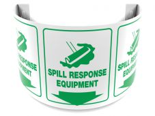 - 180D Projection™ Sign: Spill Response Equipment