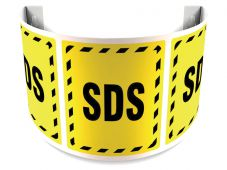 - 180D Projection™ Safety Sign: SDS