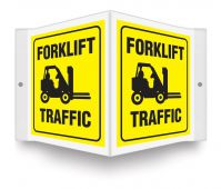 - Projection™ Sign: Forklift Traffic