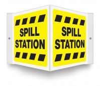 - Projection™ Sign: Spill Station