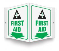 - Projection™ Sign: First Aid