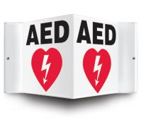 - Projection™ Signs: AED