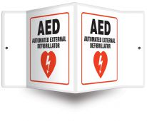 - Projection™ Sign: AED - Automated External Defibrillator