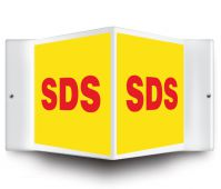 - Projection™ Safety Sign: SDS