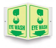 - Glow Projection™ Sign: Eye Wash