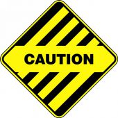 - Slip-Gard™ Diamond Floor Sign