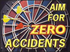 - Safety Posters: Aim For Zero Accidents