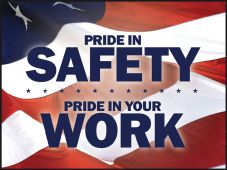 - Motivational Poster: Pride In Safety - Pride In Your Work