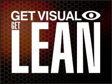 - 5S Motivational Poster: Get Visual Get Lean