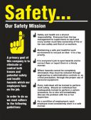 - Safety Posters: Our Safety Mission