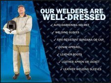 - Welding Posters: Our Welders Are Well Dressed