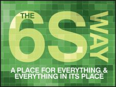 - 6S Motivational Poster: A Place For Everything , & Everything In It's Place