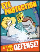 - The Simpsons™ Safety Posters: Eye Protection Is Your Best Defense