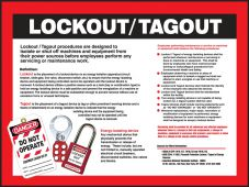 - Safety Posters: Lockout/Tagout