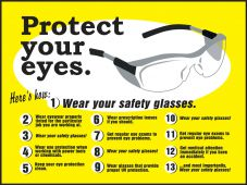 - Safety Posters: Protect Your Eyes