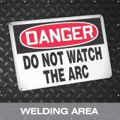 - ONE-WAY™ Printed Welding Screens: Welding Area